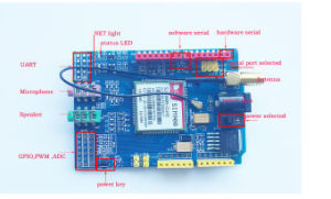 Simcom SIM900 Module Quad Band Wireless GSM/GPRS Shield Development Board pictures & photos