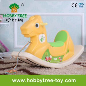2017 Plastic Rocking Horse for Baby at Home (HBS17014A)