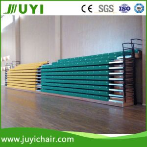Telescopic Movable Retractable Grandstand Bleacher Plastic Seating System Plastic Grandstand Jy-750