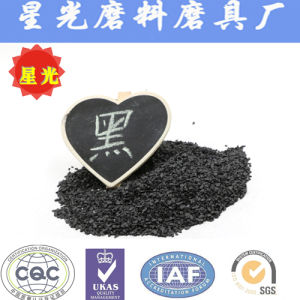 China Supplier Sand Blasting Aluminium Oxide Granules Black Grit pictures & photos