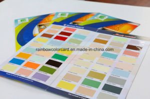Customized Single Side Style Printing Color Chart for Advertisement pictures & photos