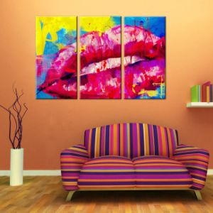 China Factory Wholesale Abstract Canvas Printing