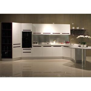 Grandshine High End High Gloss Lacquer Finish Kitchen Cabinets pictures & photos