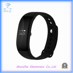V66 Smart Band Bracelet Wristband for Ios Android Mobile Phone with Heart Rate Monitor Activity Fitness Tracker pictures & photos