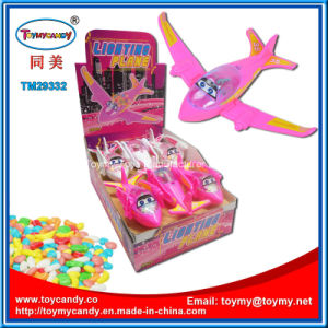 Funny Lighting Plane Toy with Candy