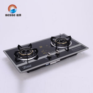 Hot Sell Built-in Gas Stove, Double Burner pictures & photos