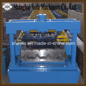 Galvanized Steel Profile Sheet Trapezodial Roof Panel Roll Forming Machine pictures & photos