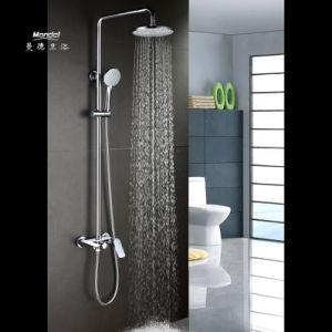 China Mandel Bathroom Shower Systems Rainfall Shower Head