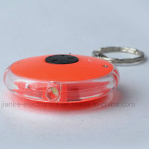 Souvenir LED Light Flashing Keyring with Logo Printed (4066)