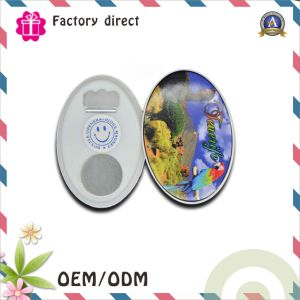 Custom Bottle 93*63mm Oval Shape Magnetic Bottle Opener pictures & photos
