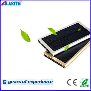 Ultra-Thin Solar Power Bank for Mobile Phone Tablet PC