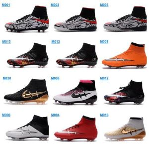 2016 Fashion Soccer Shoes Men Superstar Football Shoes Size 39-46 pictures & photos