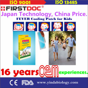 Firstdoc Cooling Gel Sheets for Fever Discomfort pictures & photos