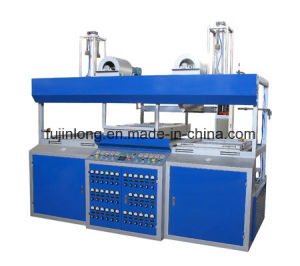 Duplex Working Position Semi-Automatic Vacuum Forming Machine pictures & photos