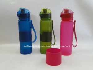 Platinum Silicone Foldable Sport Bottles (CPBZ-4102) pictures & photos