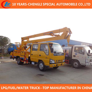 High Platform Truck 16m Bucket Truck for Sale pictures & photos