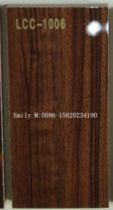 1220*2440*18mm High Glossy UV MDF for Kitchen Furniture (LCC-1006) pictures & photos