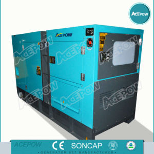 125kVA 50Hz Diesel Generator Set with ATS pictures & photos