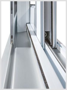 Double Glazed High Quality Aluminum Sliding Window