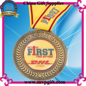 Metal Silver 3D Marathon Sports Medal with Customized Design pictures & photos
