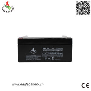 6V 3.2ah Rechargeable Lead Acid Battery with AGM Technology