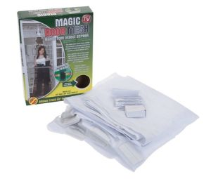 Magnet Magic Window Screen Mesh pictures & photos