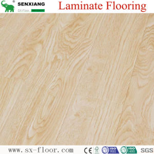 High Gloss White Oak Texture Iso Certificate Premium Laminate Flooring