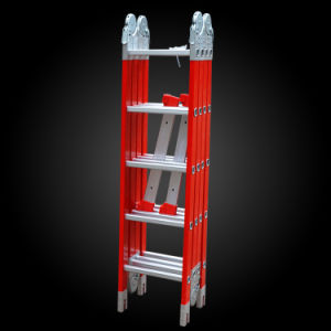 Fiberglass Telescopic Folding Joint Combination Ladder pictures & photos