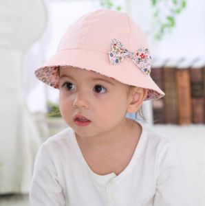 c02c4913a China Hot Sale Girls Baby Leisure Caps with Cute Bow-Knot - China ...
