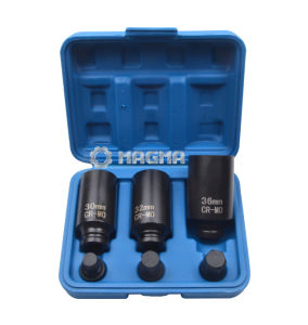 "1/2"" Drive Shaft Hub Nut Impact Socket Set (MG50475) pictures & photos"