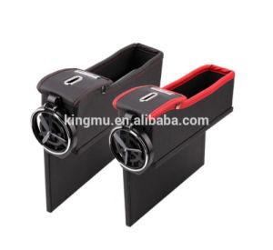 Coin Case Plastic Cup Holder Coin Storage Car Organizer Box Auto Gap Catcher