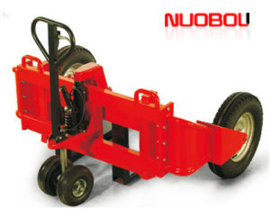 1200kg Rtt12-Rough Terrain Hand Pallet Truck with Pneumatic Tyres for Use on Undulating Surfaces.