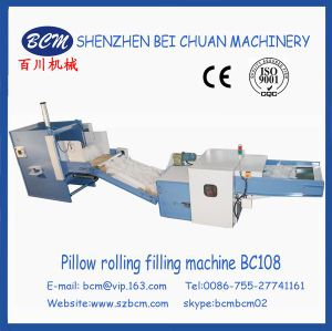 Even Filling Surface Pillow Rolling Filling Line pictures & photos