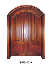 Various Style Cheap Solid Wood Doors in China