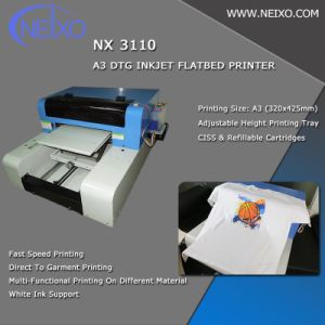 aad23156 China T-Shirt DTG Flatbed Printer A3 Size - China Direct to Garment ...