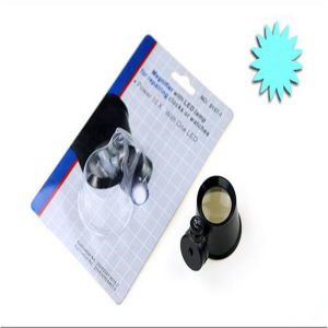 High Quality 6X Magnifier Lens with Patch Type, LED Light Medical Surgical Optical Magnifier Lamp (EGS-13B-4) pictures & photos
