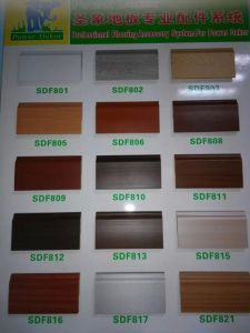 Ck Solid Wood Plastic Flooring PVC Skirting Board pictures & photos