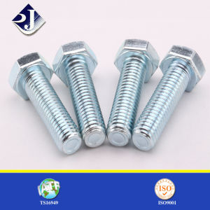 DIN931 Half Thread Hex Bolt pictures & photos