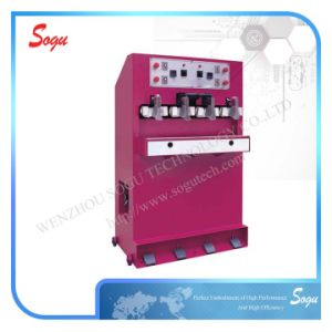 Xx0264 Four Station Cold and Hot Welt Moulding Machine; Safety Shoe Machine pictures & photos