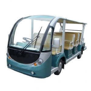 Electric Shuttle Bus, with Right Hand Drive System pictures & photos