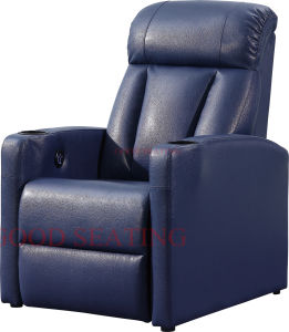 Good Seating Luxury Leather Theater Sofa (GS-19)