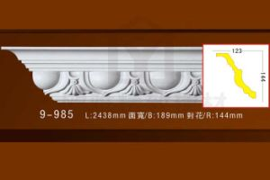 Carving Polyurethane Decorative Crown Moulding, Cornice for Interior Decoration pictures & photos