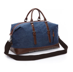 Fashion Canvas Travel Duffel Bag pictures & photos