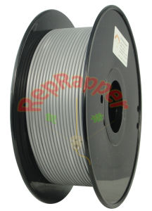 Well Coiled ABS 3.0mm Silver 3D Printing Filament