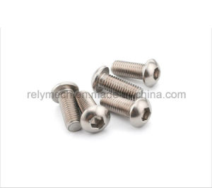 Stainless Steel Hex Socket Pan Head Cap Machine Screw M6-M10 pictures & photos
