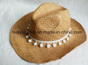 100% Handmade Raffia Straw Leisure Style Safari Hats