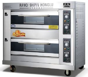 High Performance! ! ! Gas Deck Oven Pizza Oven Baking Oven Bakery Equipment (RQL-Y-2)