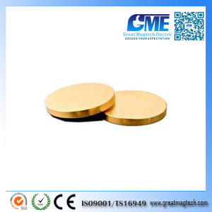 High Quality Customize Gold Coating Neodymium Magnet pictures & photos