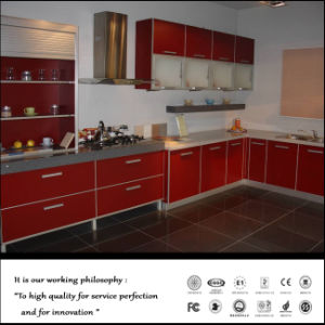 2015 Newest MDF Modern Kitchen Cabinet (ZH5419) pictures & photos
