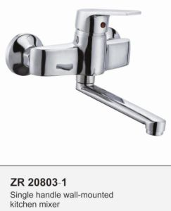 Zr20803-1 Sink Tap Single Handle Kitchen Faucet